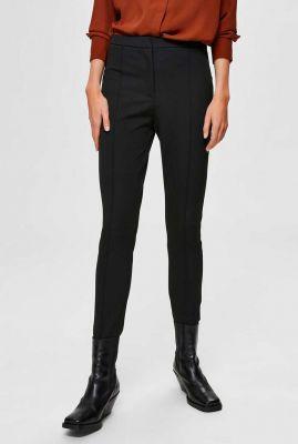 zwarte pantalon met deelnaden filue pant noos 16075828