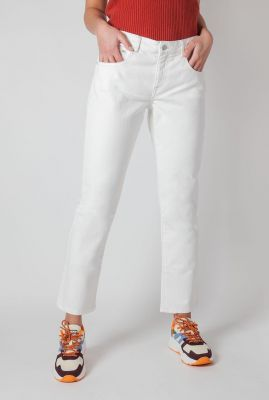 off white straight jeans pants lilias ip0133
