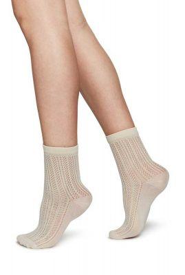 opengewerkte sokken klara knit sock