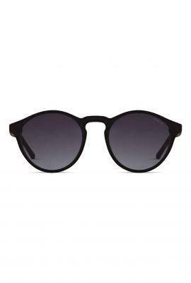 zwarte ronde zonnebril devon carbon kom-s3219