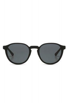 zwarte ronde zonnebril liam carbon kom-s6800