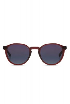 bordeaux rode ronde zonnebril liam burgundy kom-s6801