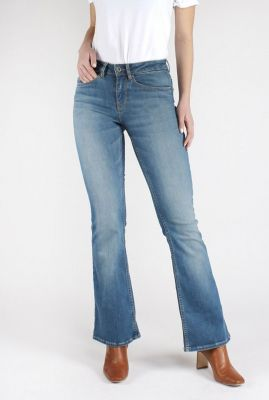lichte high waisted flared jeans essential blue amy bootcut 20-33