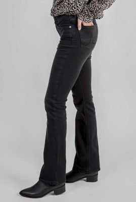 donker grijze flared jeans amy bootcut 30-01