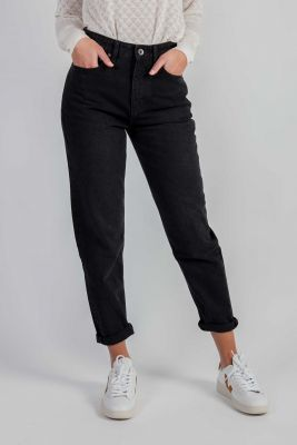 zwarte mom jeans nora tapered vintage black 55-10