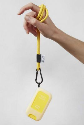geel keycord lanyard citrus noon