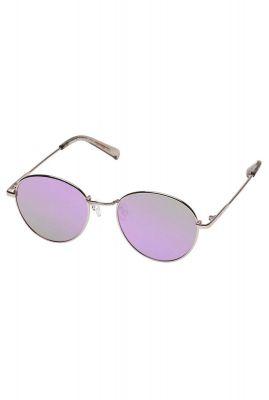 ronde rosé gouden zonnebril met roze glazen  zephyr2091 lsp1902091