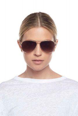piloten zonnebril met licht gouden montuur fly high2160 lsp1902160