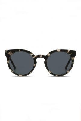 grijze zonnebril met giraffe print lulu acapulco kom-s2047