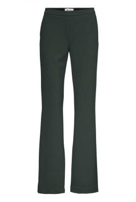 stretch flared broek met steekzakken tanny flare pants
