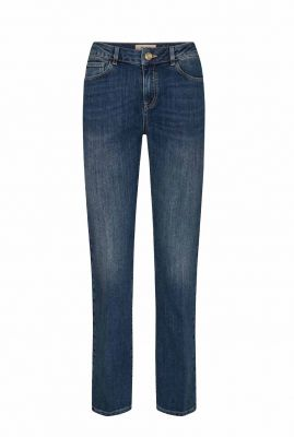 straight fit jeans met hoge taille cecilia reloved jeans 140640