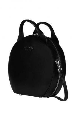 zwarte leren tas my boxy bag cookie hunter waxy 131021162