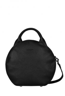 zwarte ronde cross body tas my boxy bag cookie 13102-0631