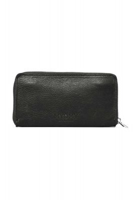 leren portemonnee my paper bag rambler black 10460631