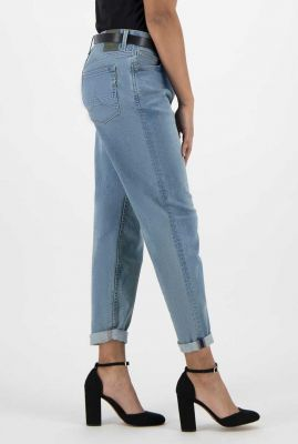 lichte mom high waist jeans nora faded blue 55-19