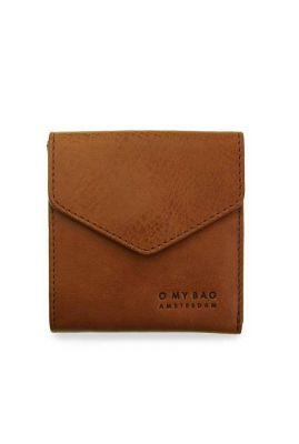 cognac portemonnee eco leer georgie's wallet  omb-e047bs
