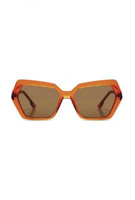 moderne oranje zonnebril poly anise kom-s8602