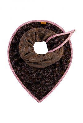jacquard geweven sjaal met lurex glitter electric by katja sp6298