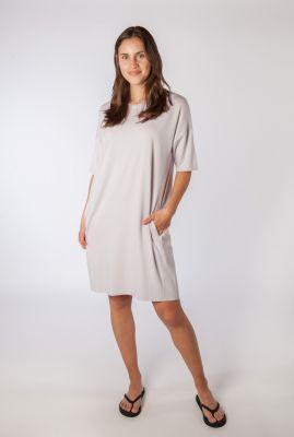 t-shirt jurk van viscose mix regitza 0265