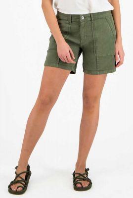 groen short van stretchkatoen dewi s20.30.3672