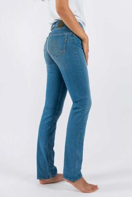 vegan blauwe straight jeans sara straight very likely 31-33