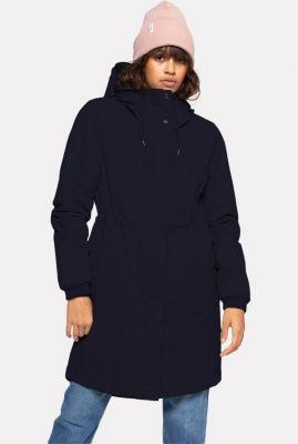 getailleerde parka jas met capuchon hodded coat 77159