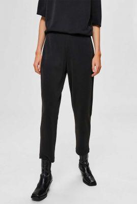 comfortabele zwarte 7/8 broek tenny ankle pant 16074307