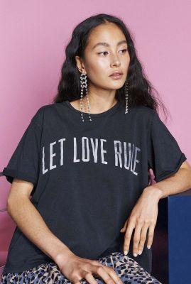 donker grijs oversized t-shirt met tekst ts love it