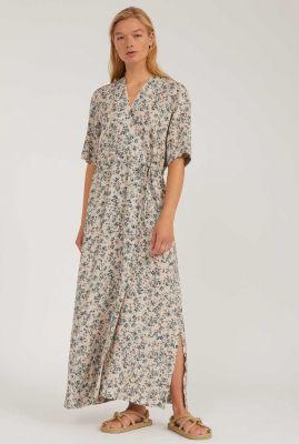 maxi jurk met bloemenprint viktoriaa 30002793
