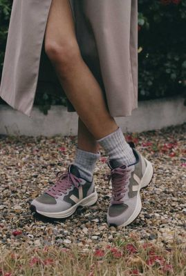 donker groen met grijs suède sneakers venturi vt0302350