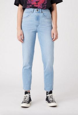 licht blauwe high waist mom jeans W246ZH280