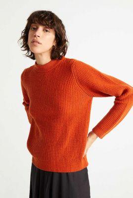oranje grof gebreide trui hera knitted sweater wkn00079