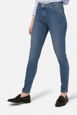 duurzame skinny jeans pure blue sk hazen blue