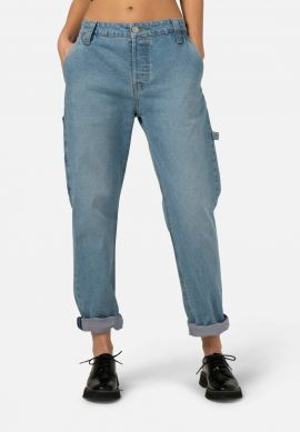 duurzame jeans met loose fit will worker heavy stone