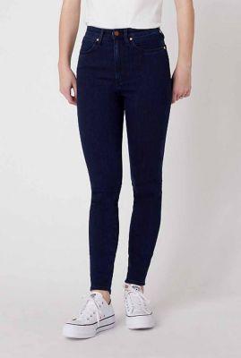donker blauwe skinny jeans met high waist wriggler W2H0JC22H