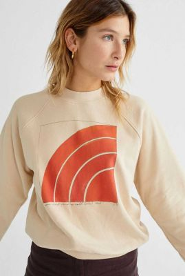 sweater met grafische print zabawa sweatshirt wss00071
