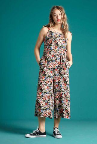 mouwloze jumpsuit met bloemenprint chrissie jumpsuit dolores 06157