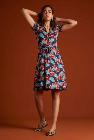 donker blauwe blouse jurk 06194 emmy dress palo verde