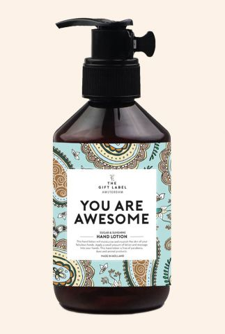 hand crème 250ml you are awesome 1012044