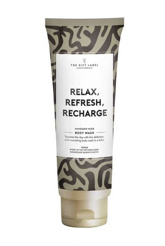 douche gel tube relax, refresh, recharge  200ml 1030102