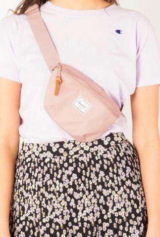 oud roze heup tas met rits fourteen belt bag 10514-02077 10514-02077-os