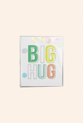 confetti kaart big hug  1055506