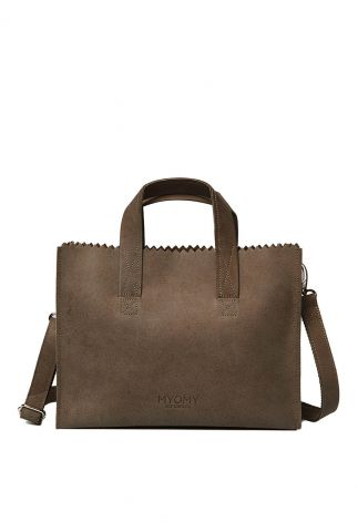 bruine my paper bag schoudertas cross body tas 10670001