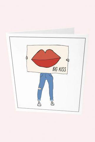 kaart big kiss  1088823
