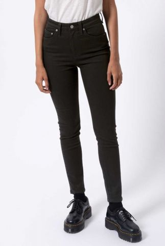 zwarte high waist skinny jeans hightop tilde ever black 113021
