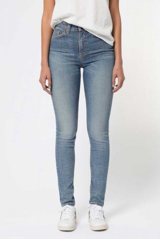 lichte skinny jeans met high waist hightop tilde huntington 113265