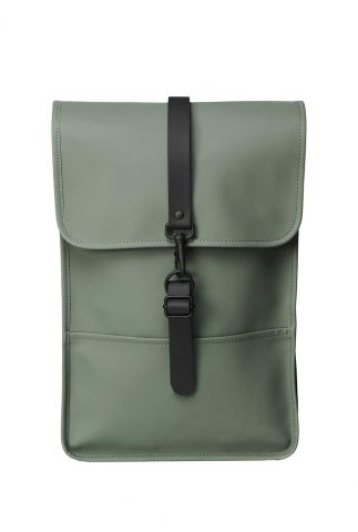 kleine olijf groene waterdichte rugtas backpack mini 1280 olive