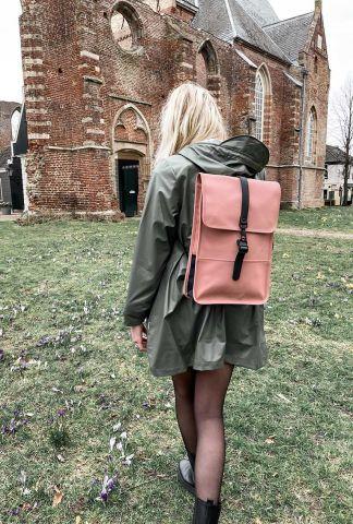 roze kleine matte rugtas backpack mini 1280 blush