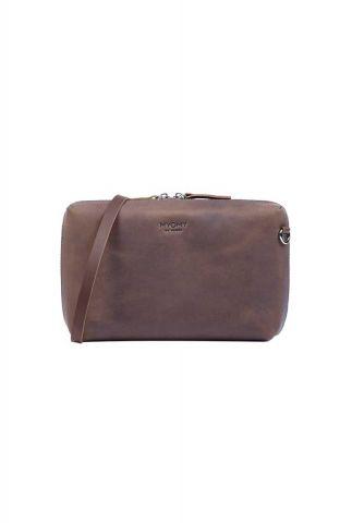 bruine handtas my boxy bag 13500001