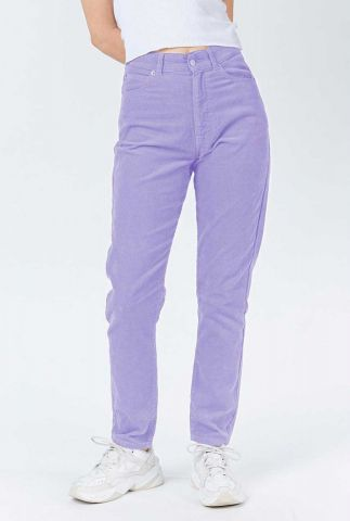 lila corduroy mom jeans met high waist 1430113 nora lavender